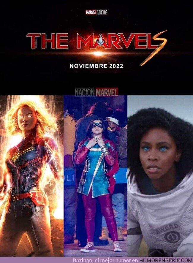 72612 - Brie Larson, Iman Vellani y Teyonah Parris confirmadas para la secuela de Capitana Marvel