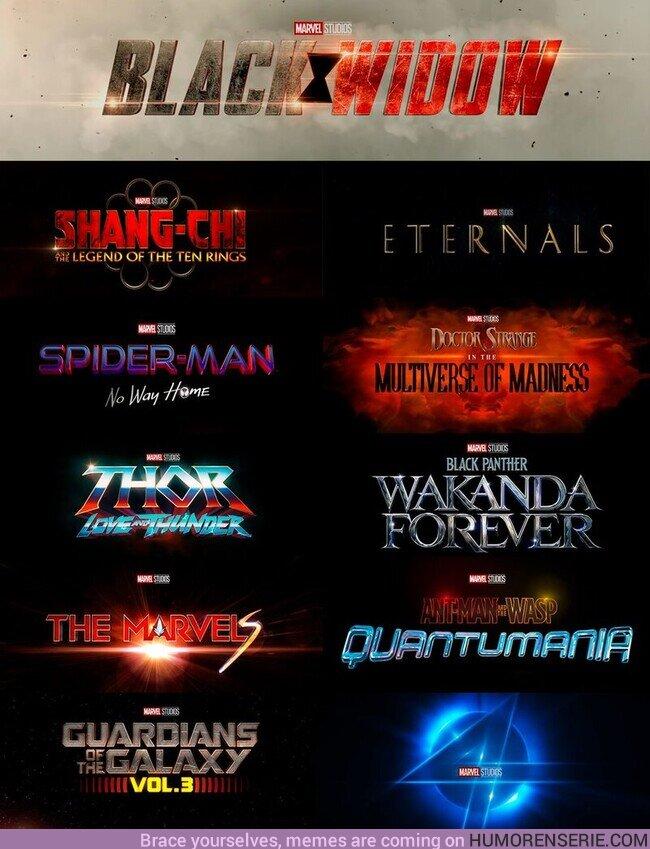 72691 - El futuro de las películas de Marvel Studios