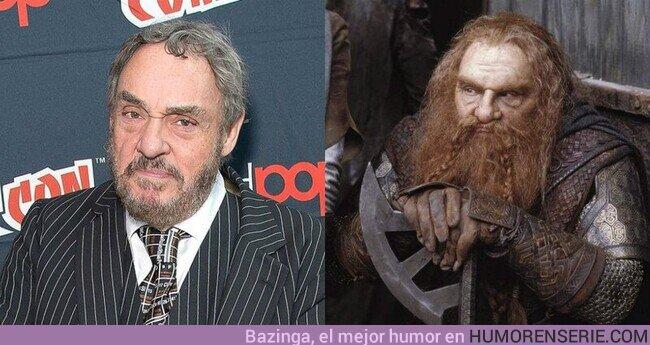 72758 - Hoy cumple 77 años John Rhys-Davies, quien interpretó al enano Gimli en las películas de #ElSeñorDeLosAnillos