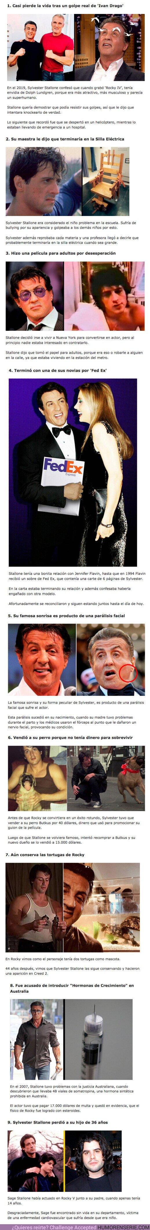72765 - GALERÍA: 9 Historias tristes que sufrió Sylvester Stallone a lo largo de su vida