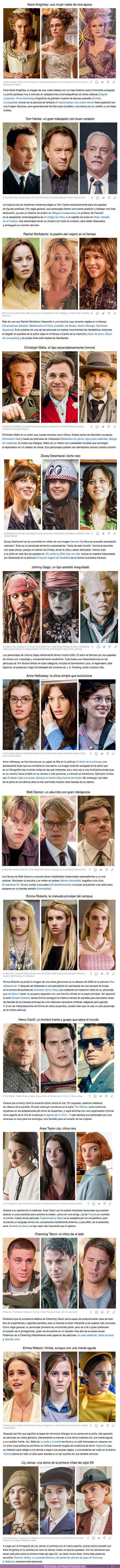 72854 - GALERÍA: 14 Actores a quienes se les pegó un tipo de papel determinado, que repiten de película en película