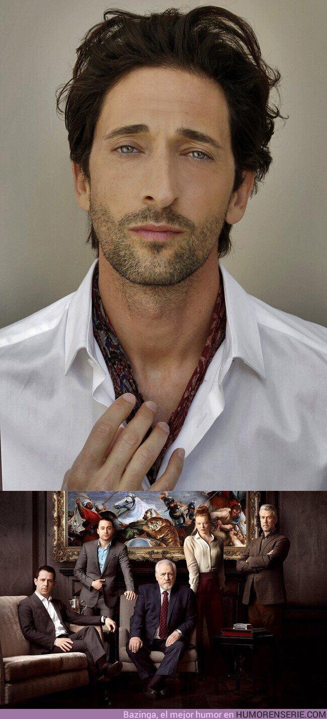 72881 - Adrien Brody se une al reparto de la 3ª temporada de 'Succession'