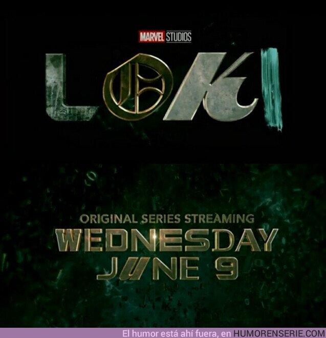 72899 - Loki adelanta su fecha de estreno en #DisneyPlus para el 9 de junio de este año.