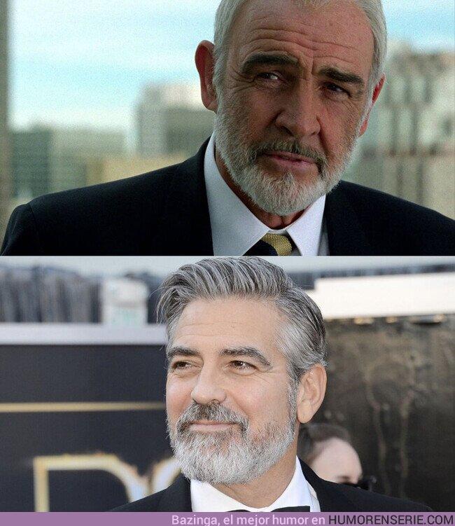 72963 - Diría que tanto Sean Connery como George Clooney han ganado atractivo con la edad