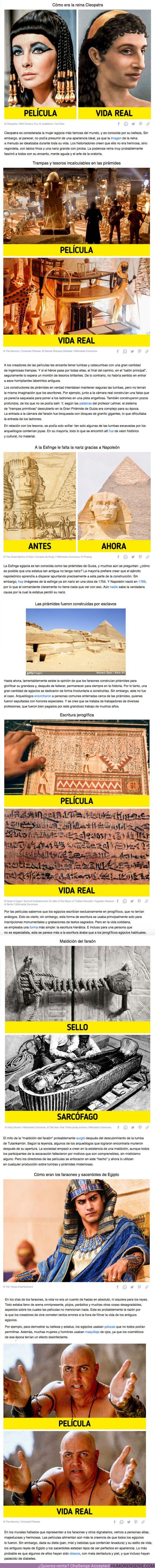 73137 - GALERÍA: 7 Estereotipos molestos sobre el antiguo Egipto que quedaron grabados en nuestras mentes debido al cine