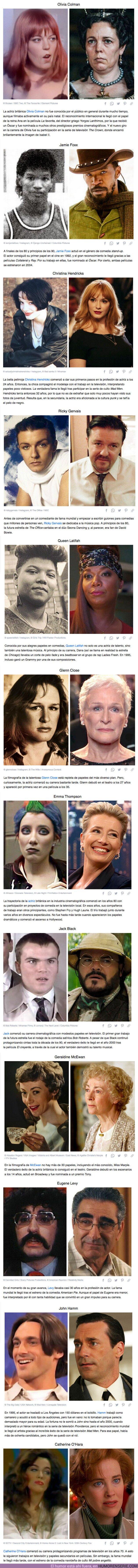 73152 - GALERÍA: Cómo lucían de jóvenes 12 actores de películas que casi todos hemos visto