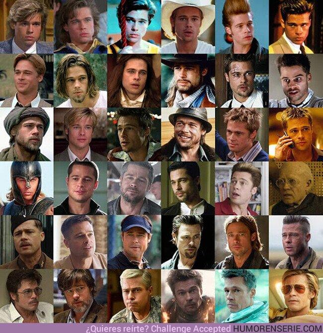 73416 - Nunca es mal momento para recordar la impecable filmografia de Brad Pitt