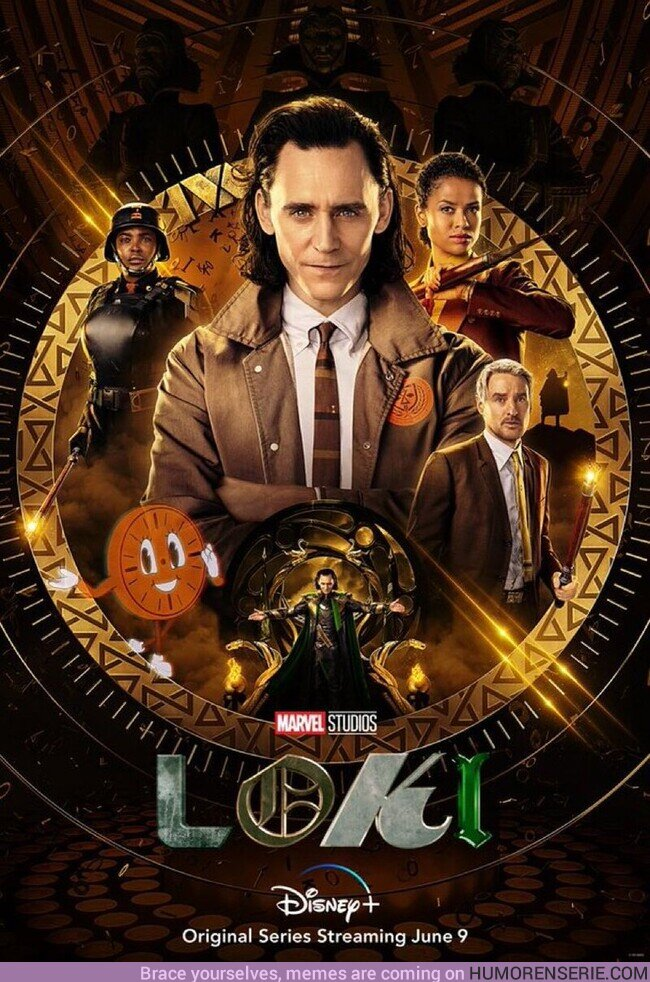 73423 - Nuevo poster de Loki. Faltan solo 4 semanas
