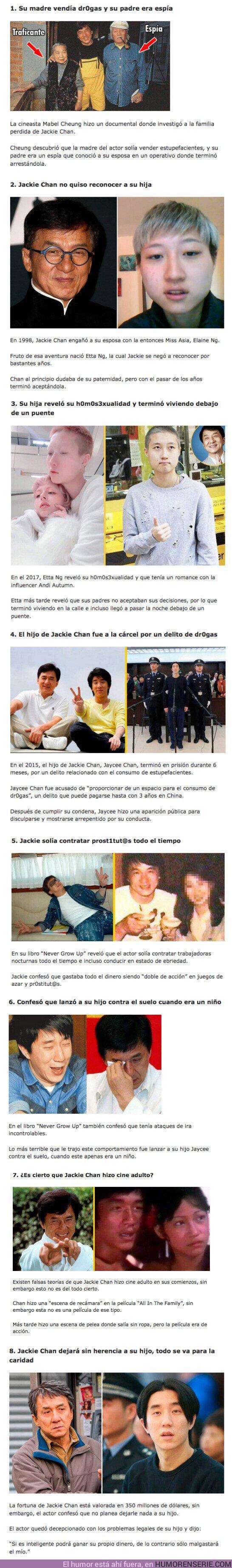 73440 - GALERÍA: 8 Cosas que muestran el lado oscuro que esconde Jackie Chan