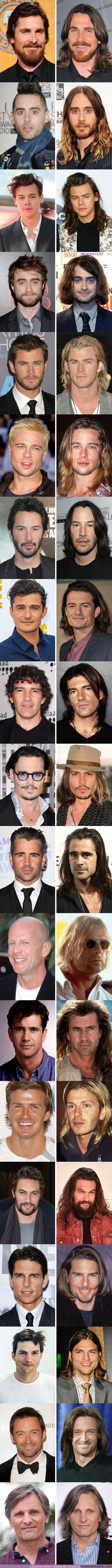 73450 - GALERÍA: 19 Hombres famosos que alguna vez se dejaron crecer el cabello y se veían aún más atractivos