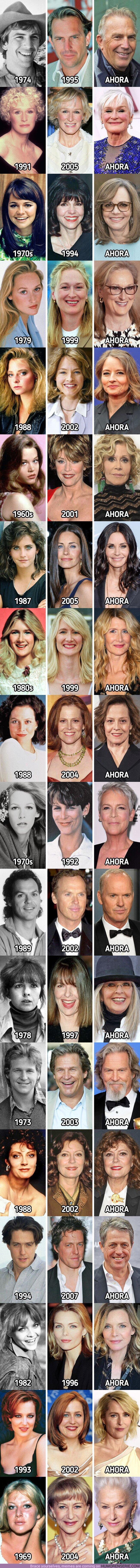 73801 - GALERÍA: 18 actrices que deslumbraron con su belleza en cada paso del envejecimiento