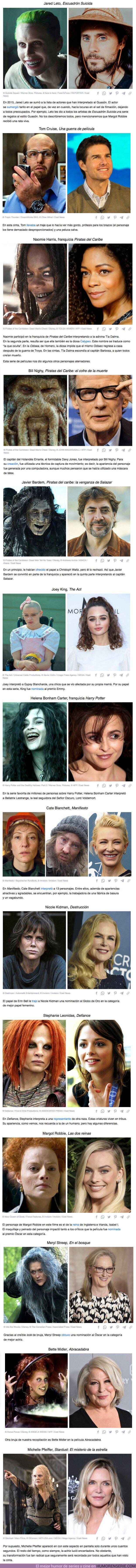 73813 - GALERÍA: 14 Actores que no tuvieron miedo salir más feo que un demonio en pantalla