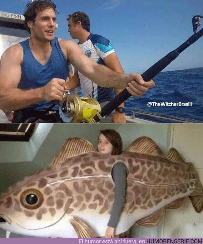73916 - Cuando Henry Cavill sale a pescar