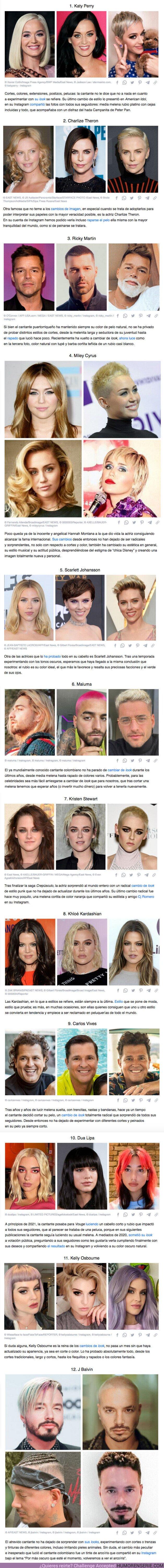 73928 - GALERÍA: 12 Famosos que decidieron cambiar de look y desde entonces su vida no ha sido la misma