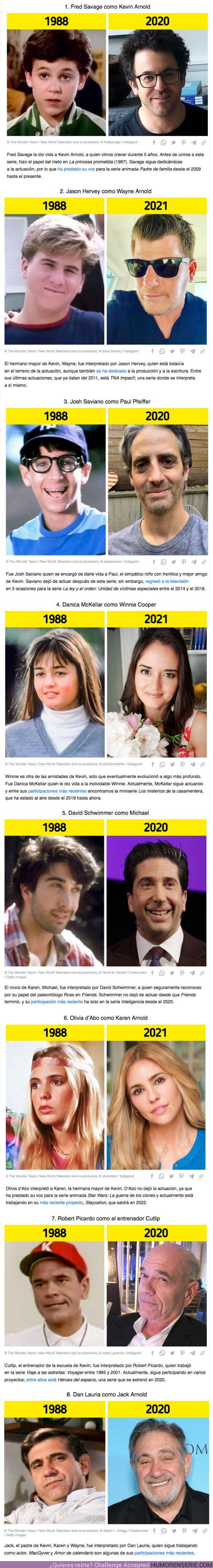 """74029 - GALERÍA: Cómo están algunos actores de """"Aquellos maravillosos años"""" 33 años después"""