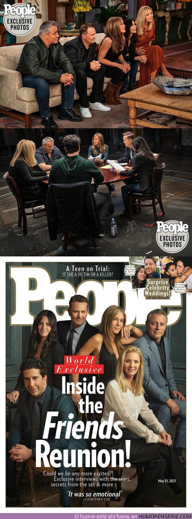 74042 - ¡Primeras imágenes de la esperada reunión de #Friends en @hbomax!