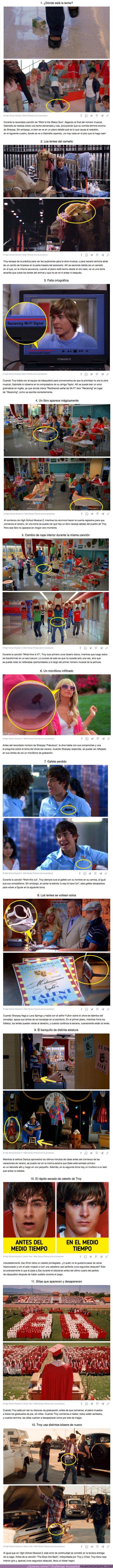 74190 - GALERÍA: 12 Errores en las películas de High School Musical que demuestran que a Disney se le fue de las manos