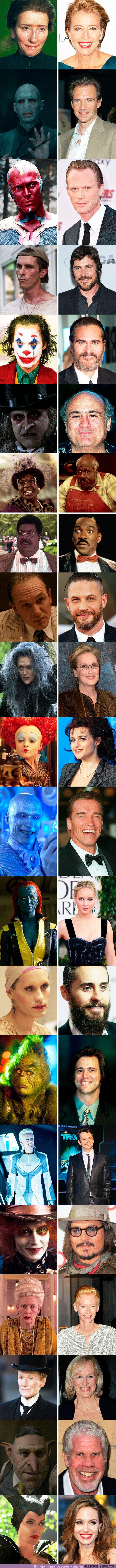 74194 - GALERÍA: 20 Actores que cambiaron de piel de una forma loca para interpretar un papel