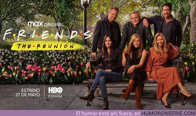 74205 - El especial Friends: The Reunion también llegará a HBO España el 27 de mayo