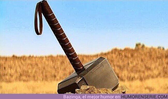 74247 - Buenos días a todos los que sois dignos del poder de Thor y podéis levantar su martillo