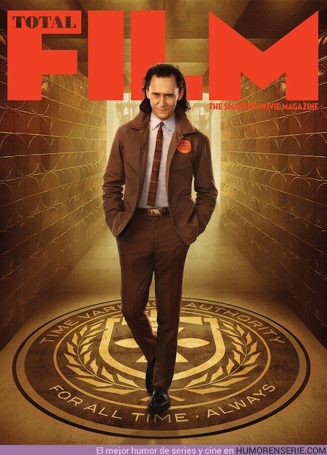 74255 - Tom Hiddleston protagoniza la portada de Total Film por el estreno de Lok