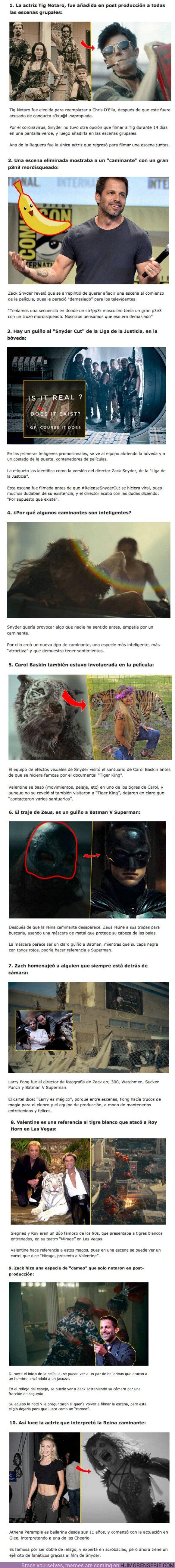 """74330 - GALERÍA: 10 Curiosidades sin spoilers sobre """"Army of the Dead"""" de Zack Snyder"""