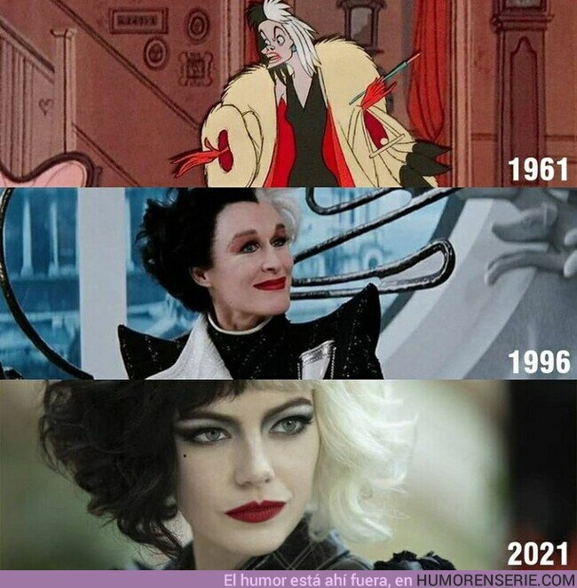 74683 - Las adaptaciones de #Cruella conforme han pasado los años