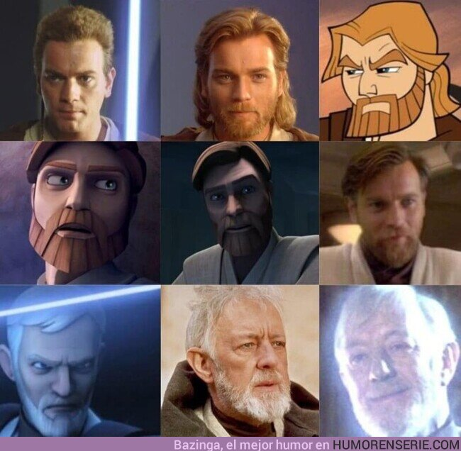 74753 - Obi-Wan a través de los años