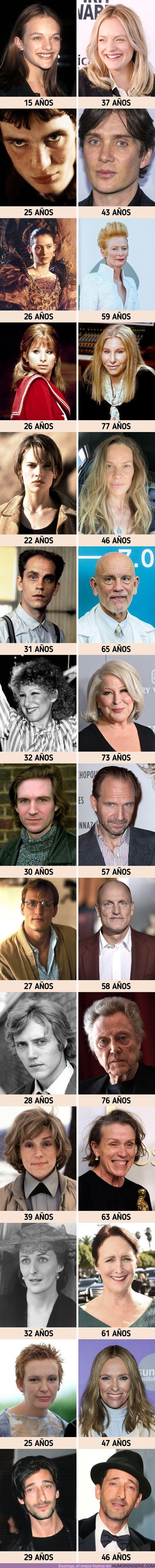 74792 - GALERÍA: Cómo eran de jóvenes 14 celebridades cuyo aspecto no encaja con el  cánon de belleza de Hollywood