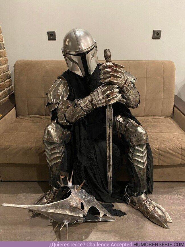 74890 - Cuando eres fan de El Señor de los Anillos y de Star Wars pero no te decides por el cosplay