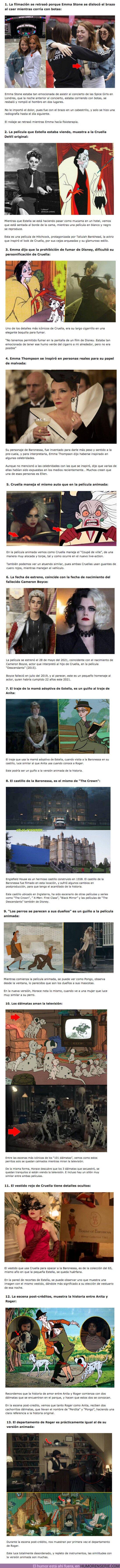 74972 - GALERÍA: 13 Curiosidades de Cruella, la película más oscura de Disney