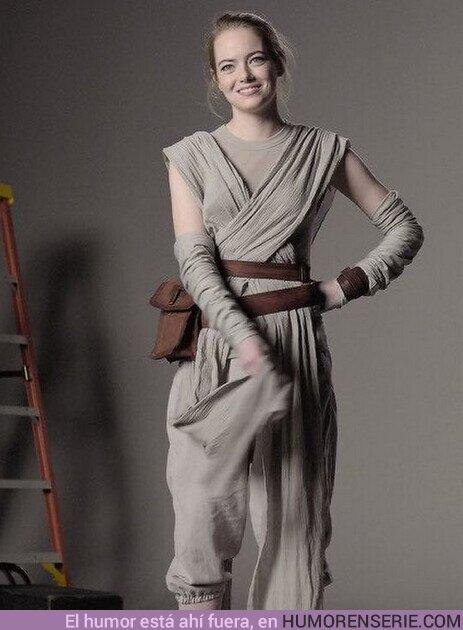 75057 - Emma Stone como Rey