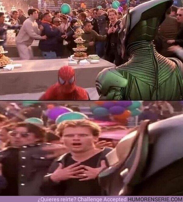 75058 - El mejor extra de la historia del cine está en la Spider-Man de Sam Raimi