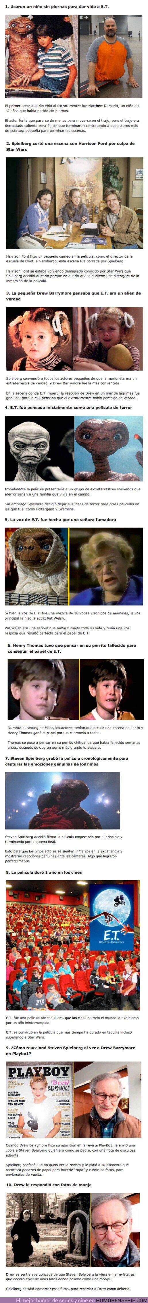 75300 - GALERÍA: 10 locuras que ocurrieron en el set de filmación de E.T.