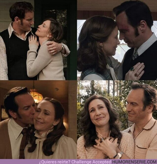 75462 - #ElConjuro3 y el poder del amor, yo quiero algo como lo que Ed y Lorraine tenían, pero sin demonios