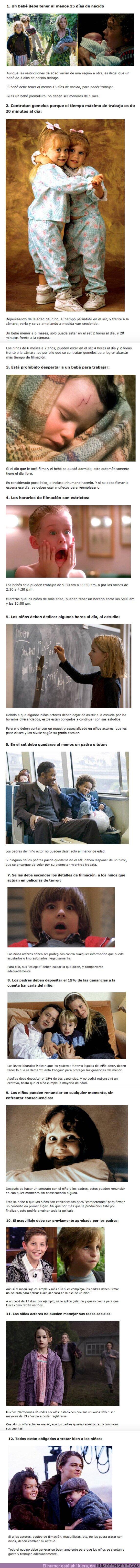 75535 - GALERÍA: 12 Reglas que están obligados a seguir en HOLLYWOOD para contrata a un niño actor