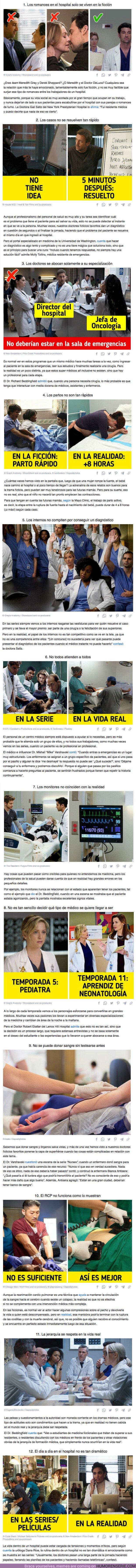 75715 - GALERÍA: 12 fallos en los series de hospitales. Los doctores de verdad confiesan que eso no sucede