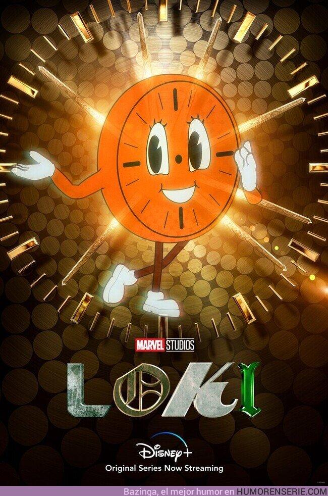 75879 - Miss Minutes protagoniza el nuevo póster de Loki