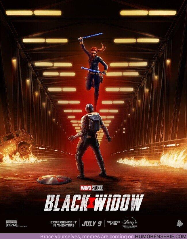 76083 - Nuevo póster de Black Widow