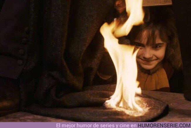 76131 - Quédate con quien te mire como Hermione mira un hechizo bien hecho