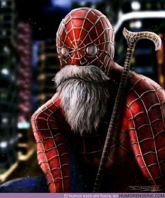 76231 - Cuando Spiderman se fusionó con el Maestro Roshi