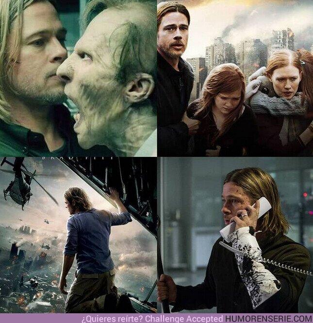 76245 - Un día como hoy hace 8 años llegaba al cine #GuerraMundialZ, y aún seguimos esperando la secuela .
