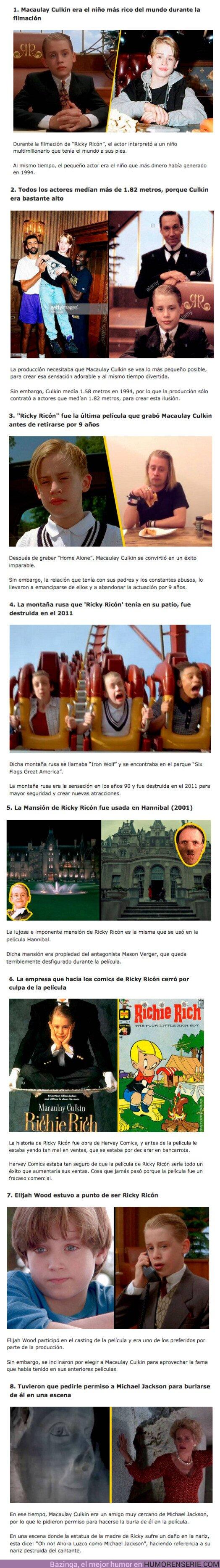 """76374 - GALERÍA: 8 locuras que pasaron en el rodaje de la película """"Niño Rico"""""""