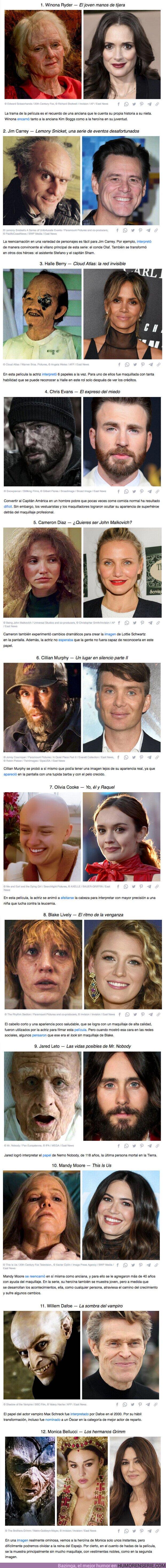 76465 - GALERÍA: 12 actores que no duraron en arruinar su belleza para interpretar a un personaje