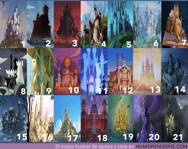 76482 - ¿Conoces todos estos Castillos Disney?