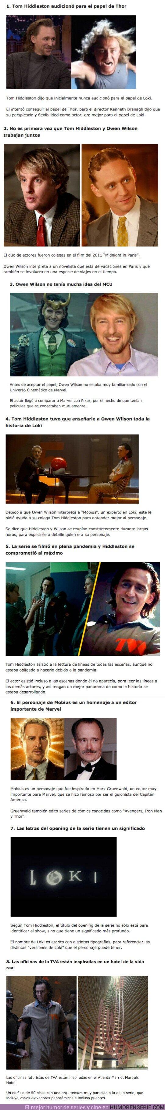 """76602 - GALERÍA: 8 Curiosidades que pasaron en el rodaje de la serie """"Loki"""""""