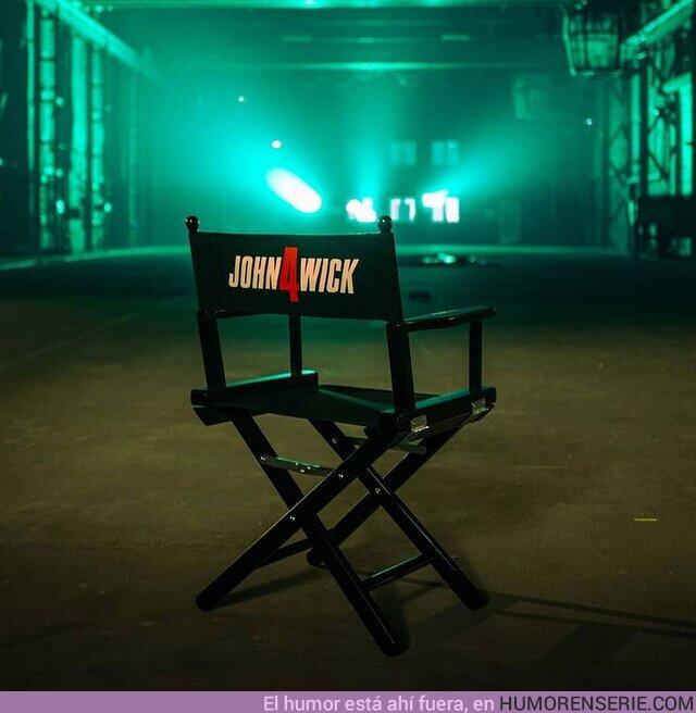 76624 - Es oficial, el rodaje de #JohnWick4 ha comenzado