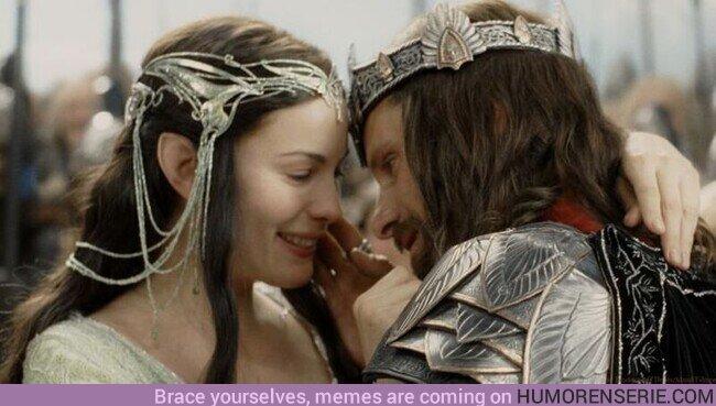 76697 - Un día como hoy en la Tierra Media, Aragorn y Arwen unían sus vidas para siempre casándose