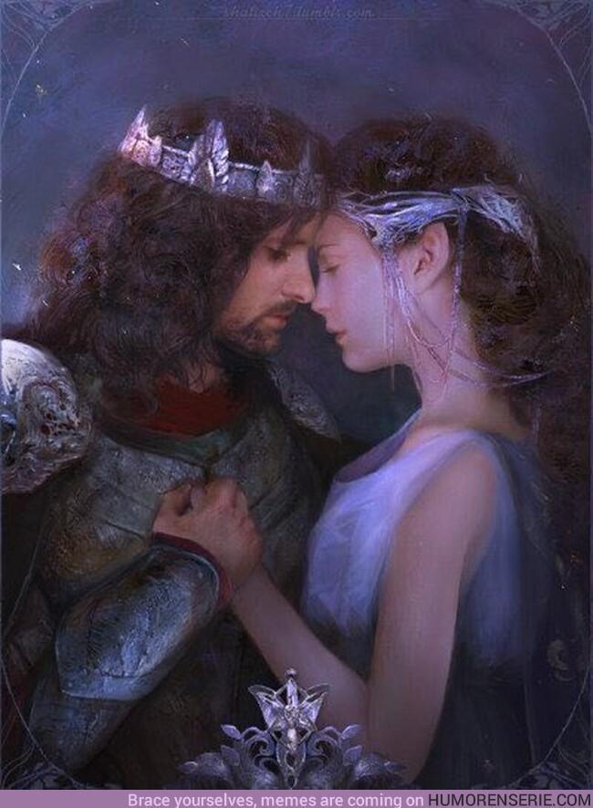 76868 - Tal día como hoy, Aragorn y Arwen se casan. Año 3019 Tercera Edad