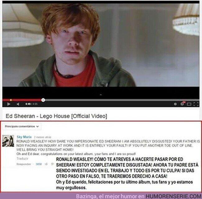 76925 - El mejor comentario de Youtube